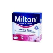 Reliable Milton Maximum Protection 28 Sterilising Tablets - Kills Bacteria, Viruses, Fungi & Spores