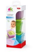 Nuk Annabel Karmel Stackable Freezer Feeding Pots PACK OF 6