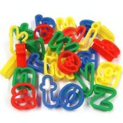 Lower Case Alphabet Dough Cutters