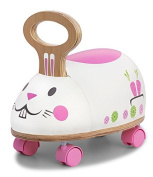 Skipper - Ride n Roll Rabbit - A child's first ride on toy, suitable from 10 - 36 months