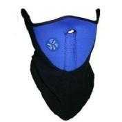 Neck Warmer Face Mask Blue