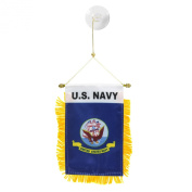 U.S. Navy Mini Window Banner