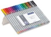 Staedtler Triplus Fineliner Pens - Assorted, Set of 20