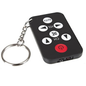 1Pcs Mini Universal Infrared Ir Tv Set Remote Control Keychain Key Ring 7 Keys