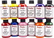 Angelus 120ml Acrylic Paint 12pk