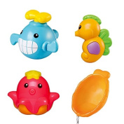 Sea Series Squirt and Float Toys Set