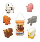 Game / Play Battat Farm Bath Buddies, toys, play, farm, kids, online, free, animals, vtech, garden Toy / Child / Kid