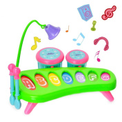 Children's toys, musical movements, baby knock piano