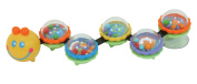 Stephan Baby Suction Cup Caterpillar Wiggle Toy for High Chairs and Strollers
