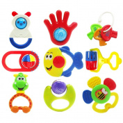 Baby rattles, baby rattles nine sets, educational toys, toys