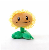 Luk Oil Plants Vs Zombies Plush Toys Sunflower Doll Dolls 15 cm High-Quality Soft Short Plush And Filling Higth PP Cotton