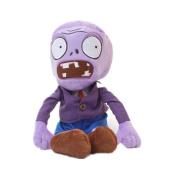 Luk Oil Plants Vs Zombies Purple Plush Zombie Pp Cotton Zombie Doll About 27Cm Tall