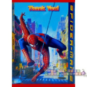 Spiderman 2 Thank You Notes
