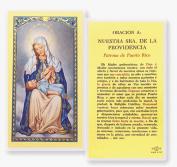 Nuestra Sra De La Providencia Patrona De Puerto Rico Tarjeta De Rezo Laminada Bendita Por Su Santidad Francisco