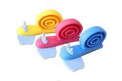 Lowestbest 9 PCS Colours Snail Door Stoppers-baby Finger Pinch Guard & Children's Bedroom Pothook