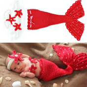 Dealzip Inc Fashion Unisex Newborn Boy Girl Crochet Knitted Baby Outfits Costume Set Photography Photo Prop