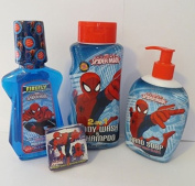 Marvel Spiderman Bath + Body Combo Gift Pack