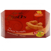 Herbal soap Ing-On Brand,Tamarind ,Whitening Enriched Vitamin E Natural Herbal Net Wt. 90ml or 85 G.