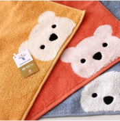 Candy Bear 100% Cotton Scarf Child Small Towel Soft and Comfortable Wool