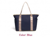 Blue Baby care nappy bags,mummy bags multifunction.with Isothermic bags,top quality with waterproof Oxford cloth