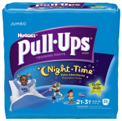Huggies Pull-Ups Training Pants - Nighttime - Boys - Jumbo Pack - 2T-3T - 23 ct
