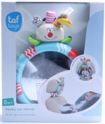 Rear Facing Baby View Mirror. Keeps Parent Happy and Calm While Driving