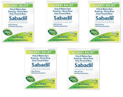 Boiron Homoeopathic Medicine Sabadil Tablets for Hay Fever and Allergies, 60 Tablets