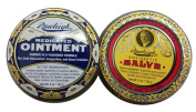 Rawleigh 2-pack of Natural Medicated Ointment and Antiseptic Salve