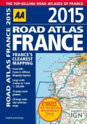 2015 Road Atlas France