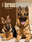 German Shepherds 2015 Desk Diary