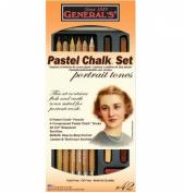 General Pastel Chalk Set For Portraits