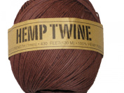 Hemp Twine Brown 20# 1mm 430Ft 130m