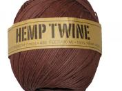 Hemp Twine Brown 20# 1mm 430Ft 130m