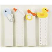 Little B 100172 120-Piece Decorative Tabs, Baby