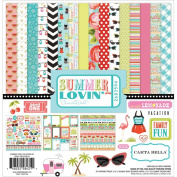 Carta Bella Paper Company Summer Lovin' Collection Kit for Scrapbooking