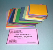 Pound Pack from Cardstock Warehouse Assorted Sizes and Colours