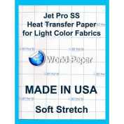 JET-PRO®SS JETPRO SOFSTRETCH HEAT TRANSFER PAPER 28cm x 43cm CUSTOM PACK 50 SHEETS