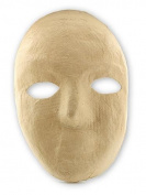 The Chenille Kraft Company Paper Mache Mask full mask 20cm . x 15cm . each [PACK OF 6 ]