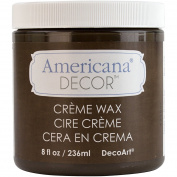 Deco Art Americana Decor Creme Wax, 120ml, Deep Brown