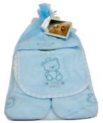 Teddy Bear Four Piece Gift Set for Baby Boy