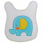 Neat Solutions Applique Print Coral Fleece Cosy Cloth Bathtime Warming Towel, Elephant