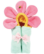 AM PM Kids! Mini Tubby Towel, Pastel Flower