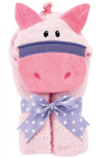 AM PM Kids! Mini Tubby Towel, Pink Pony