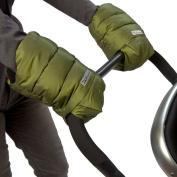 7 A.M. Enfant Stroller Hand Warmers for Parents and Caregivers, Metallic Leaf