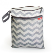 Skip Hop Grab and Go Wet/Dry Bag Chevron