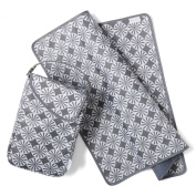 Giggle Baby by JJ Cole Nappies and Wipes Pod- Grey Pinwheel