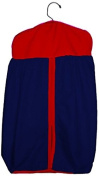 Baby Doll Reversible Nappy Stacker, Navy/Red