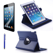 Sheath Ipad Air Multi angle 360 rotating case cover With Screen Protector and Stylus For New Ipad air 5th generation with ratina display