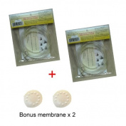 4 Replacemnt Tubes for Medela Pump in Style and New Pump in Style Advanced Breast Pump - BPA Free, Replacement Parts for Medela Part # 87212, 8007212, 8007156, Made By Maymom