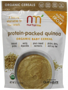 NurturMe Protein Packed Quinoa Organic Infant Cereal, 110ml